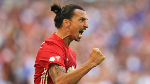 Zlatan Ibrahimovic was the match-winner for Manchester United