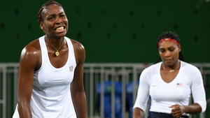 Three-time women's double gold medalists have been beaten in the first round