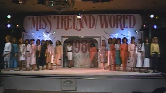 Miss Ireland Competition 1986