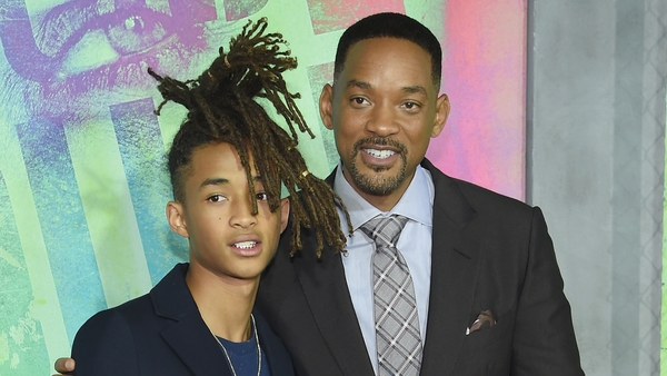 Will Smith and his son Jaden