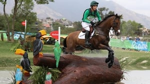 Padraig McCarthy's fall aboard Simon Porloe hit Ireland's hopes in the eventing.
