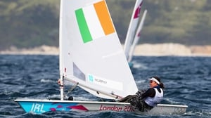 Annalise Murphy is battling - and winning - her fight with seasickness