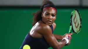 Williams' only tournament since winning Wimbledon came in Rio