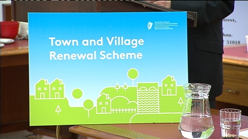 The scheme aims to revitalise rural towns and villages across Ireland