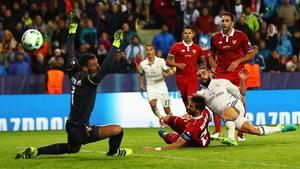 Dani Carvajal scores the winner for Madrid