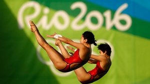 Chen Ruolin and Liu Huixia claimed gold