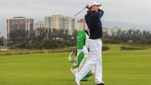 Pádraig Harrington is getting into the swing of things in Rio