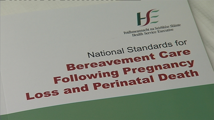 HSE publishes new guidelines for grieving parents