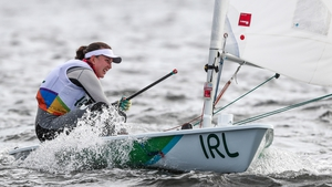Annalise Murphy finished in fourth place in London 2012