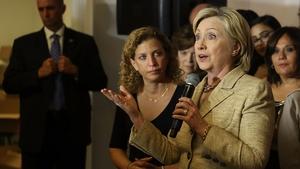 Hillary Clinton speaking in Florida earlier this week