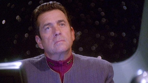 Barry Jenner as Admiral William Ross in Star Trek: Deep Space Nine Photo: Paramount Television