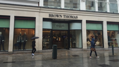 Brown Thomas and Arnotts were among those outlets to reopen today