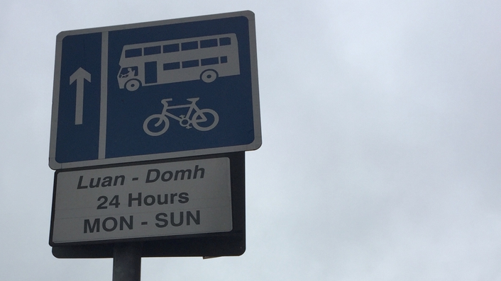 Bus lanes remain closed to ordinary traffic during bus strike