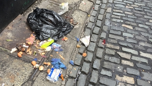 Pockets of Ireland's major cities continue to suffer from significant levels of litter