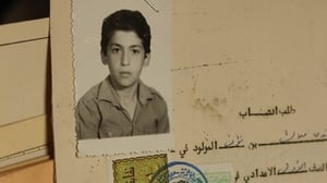 Ghandi's Syrian state documents. Pictured, as a young boy