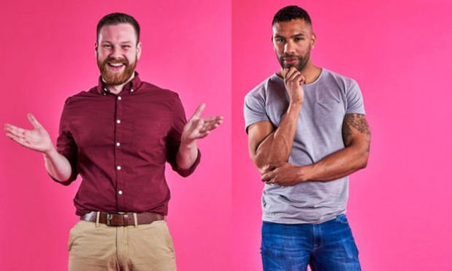 Damien & Kai from First Dates. Photo courtesy of Channel 4.