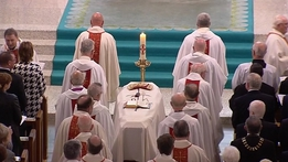 Funeral of Bishop Edward Daly