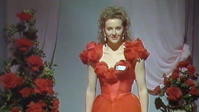 Gabby Logan represented Leeds at the Rose of Tralee 1991