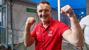 USA boxing coach Billy Walsh in Rio
