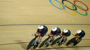 Great Britain broke the women's team pursuit world record