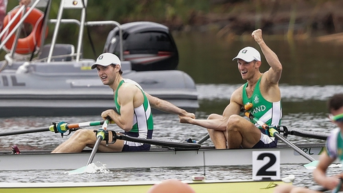 More gold for the O'Donovan brothers