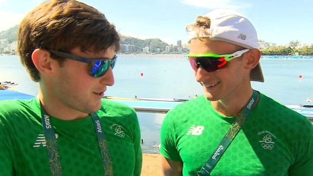 Cork's rowing brothers Gary and Paul O'Donovan