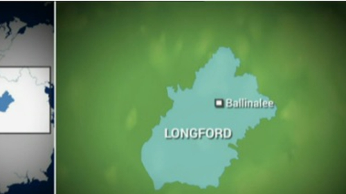 The fire broke out at a house in Ballinalee, Co Longford