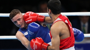 Brendan Irvine had the misfortune to run into Shakhobidin Zhoiroz - who went in to win gold - on his Olympic debut