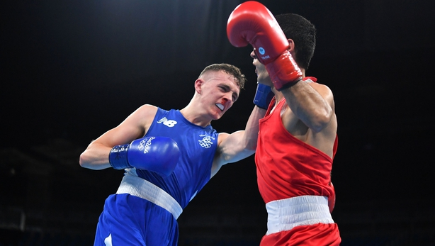 Steven Irvine in action at Rio