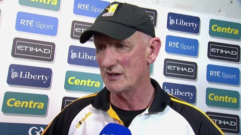 "The Sunday Game Extras: Brian Cody - ""It's just outstanding hurling"""