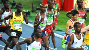 Mo Farah won the men's 10,000m