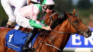 Deauville in action in Leopardstown last year