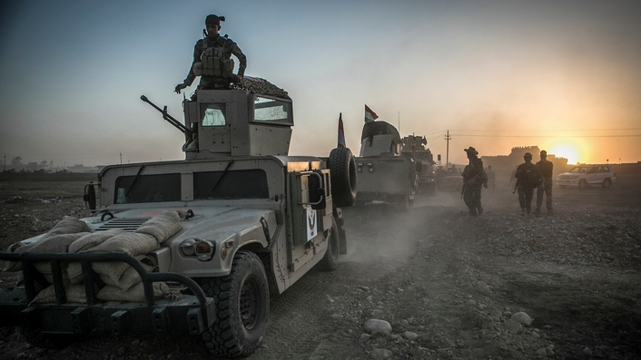 Battle begins to recapture the city of Mosul