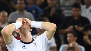 Britain's Andy Murray took the gold