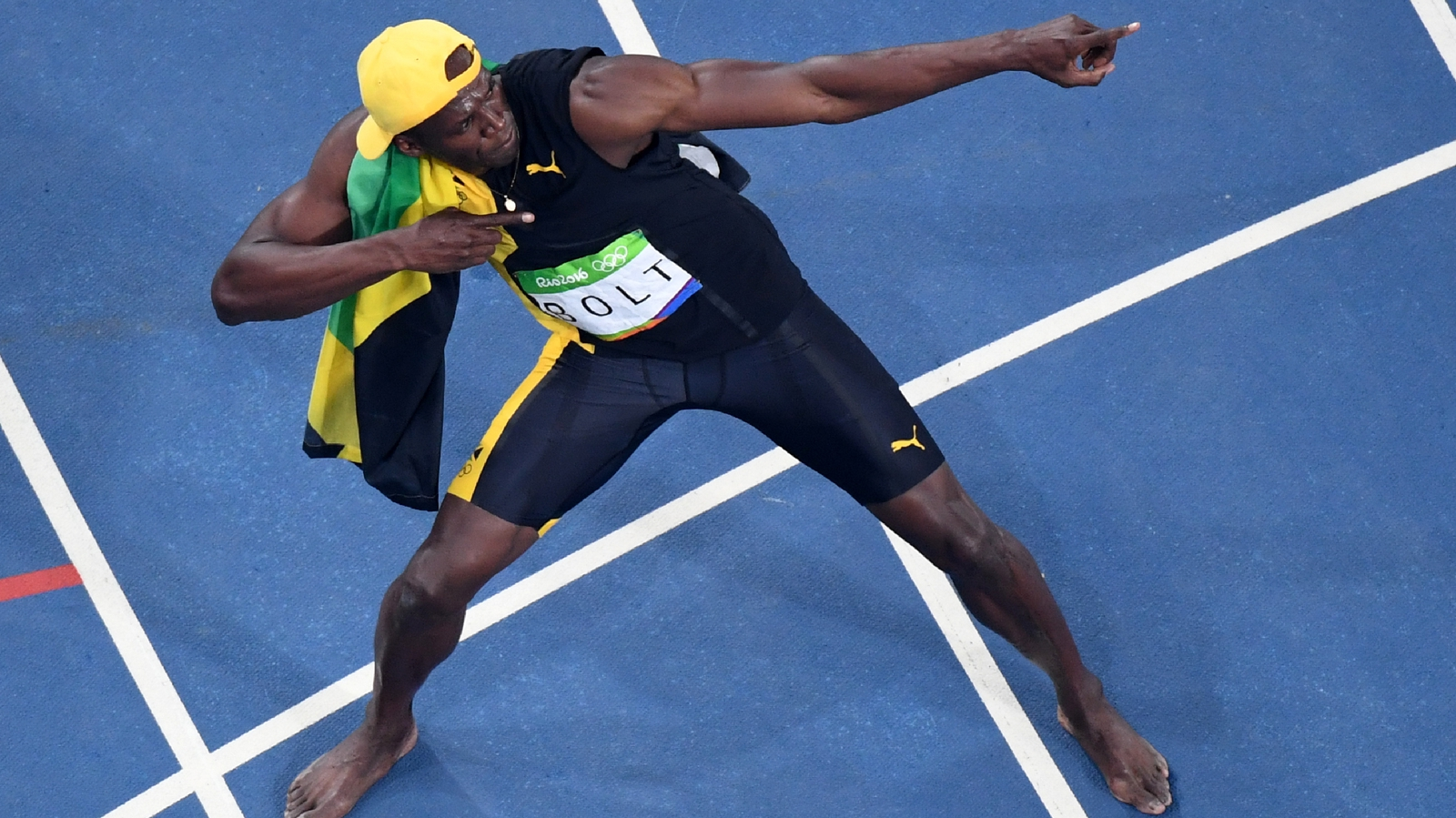 Usain Bolt storms to 100m gold in Rio