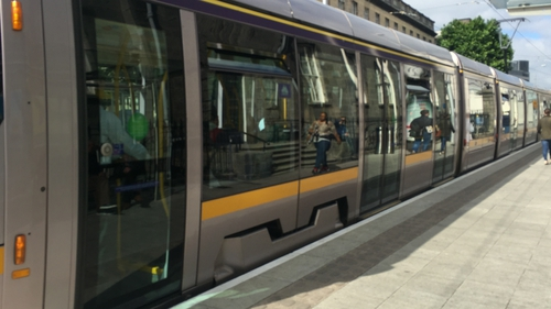 Eight trams are being added to the Luas fleet