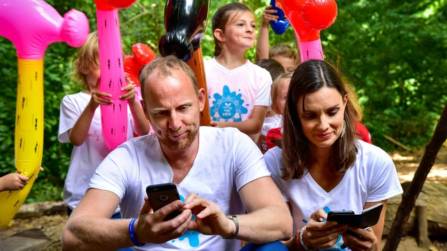 Ali Canavan and Chris Flack caught by smartphone police