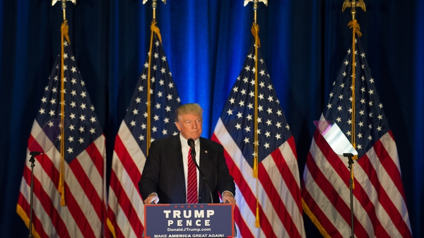 Donald Trump delivered his foreign policy speech at a campaign event in Ohio