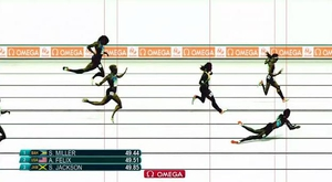 Shaunae Miller's dramatic dive at the death earned her gold