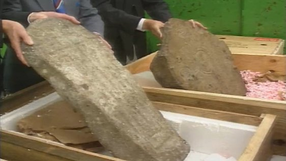 Burial Stones Returned