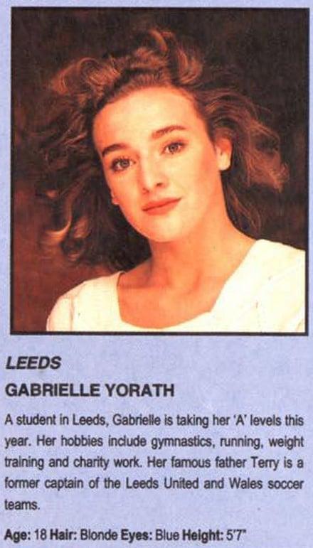 Rt Archives Entertainment Gabby Logan Leeds Rose