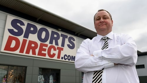 Mike Ashley, founder and CEO of Sports Direct