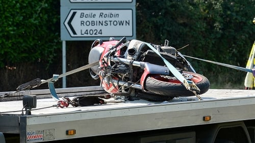 Gardaí have appealed for witnesses to the crash