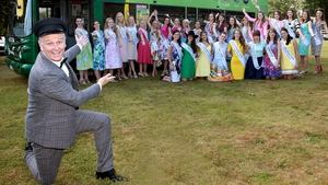 Daithi O'Shea hosts the 57th Rose of Tralee which goes from 32 to 65 Roses