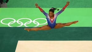 Simon Biles is one of the athletes whose private medical information was published