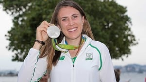 Annalise Murphy pictured with her medal in August 2016