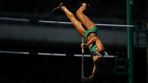 Tori Pena cleared 4.3m in the women's pole vault, but failed to progress to the final.