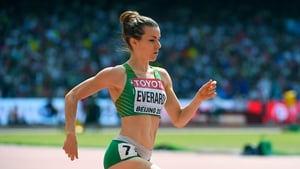 Ciara Everard failed to qualify from the heats of the women's 800 metres after an eighth-placed finish.