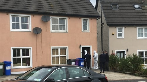The woman's body was discovered in her home in the Cluain Dara estate