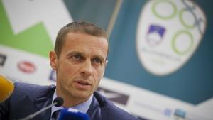 Aleksander Ceferin is standing in September's UEFA election